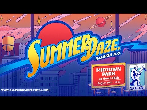 Raleigh NC Summer Daze Festival - North Hills Midtown Park