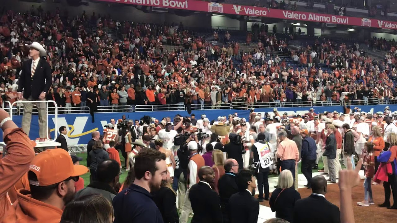 The Eyes of Texas   Alamo bowl December 31st 2019 Post Win