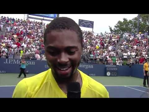 Donald Young Vs Chela 3rd Round Match Point  US OPEN 2011[HD]