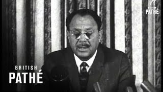 Ayub Khan On Indo-Pakistan Conflict And Scenes (1965)
