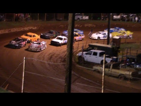 Winder Barrow Speedway Stock 4 Cylinders 's A's  Race 8/24/19