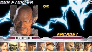 #703 Tekken Advance (GBA) Boss: Heihachi playthrough.
