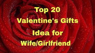 20 Best Gift Ideas In Valentine's Day For Wife/girlfriend
