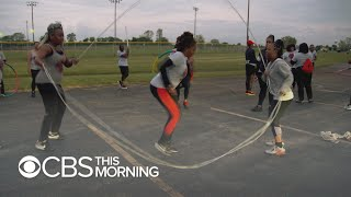 Women find freedom and peace through Double Dutch club