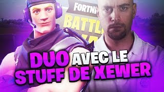 DUO AVEC LE STUFF DE XEWER !