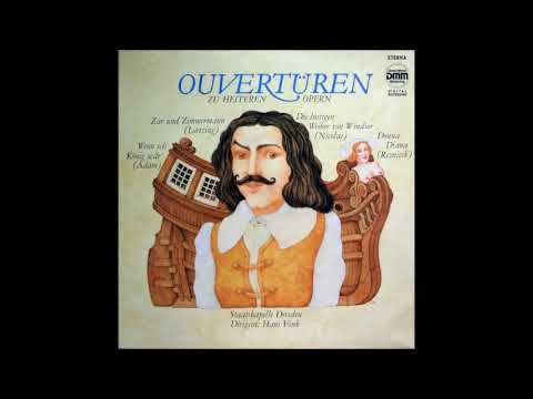 19th Century Opera Overtures, conducted by Hans Vonk (originally from Eterna LP 7 25 158)