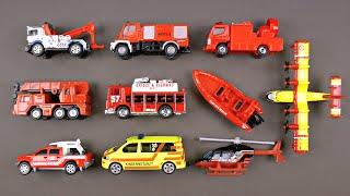 learning emergency vehicles for kids 2 rescue trucks by hot wheels matchbox tonka tomica siku
