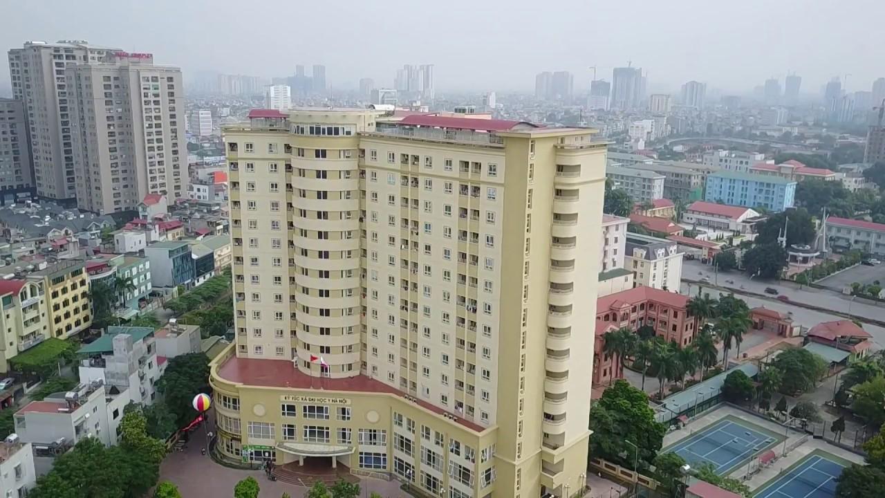 Ký túc xá 15 tầng Đại học Y Hà Nội