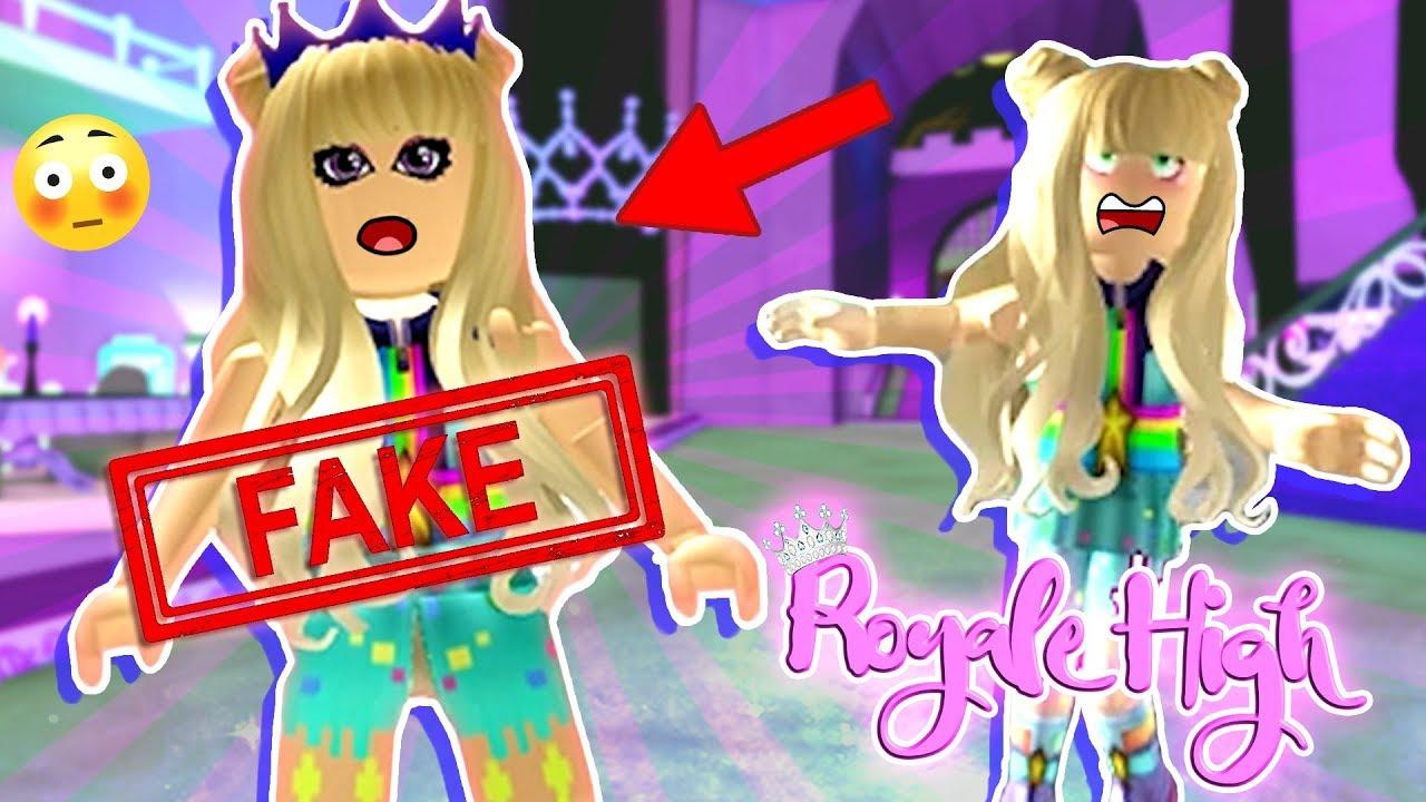 Cybernova Caught Me Pretending To Be Her Roblox Royale High