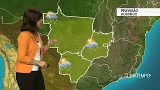 Previsão Centro-Oeste – Pancadas de chuva em GO e no DF