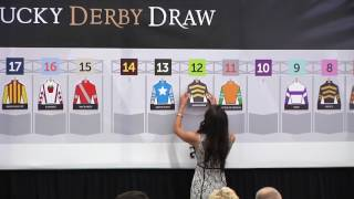 2017 Kentucky Derby Post Position Draw