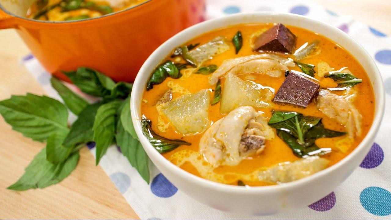 Light Chicken Curry W Winter Melon Recipe Hot Thai Kitchen