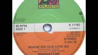 Watch Manhattan Transfer Where Did Our Love Go video