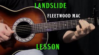 how to play Landslide by Fleetwood Mac - acoustic guitar lesson