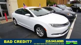 2015 Chrysler 200, 100% Application Review Policy