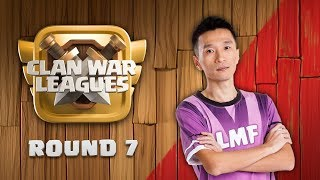Clan War Leagues Season 3 Round 7 Clash of Clans War Strategy