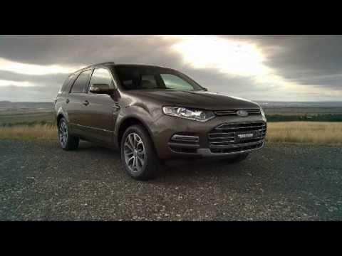 2011 New Ford Territory for Australia revealed