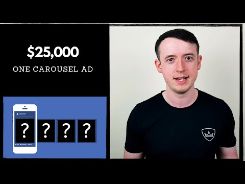 How I Made $25,000 With One Carousel Ad in Two Weeks | One Product Dropshipping thumbnail