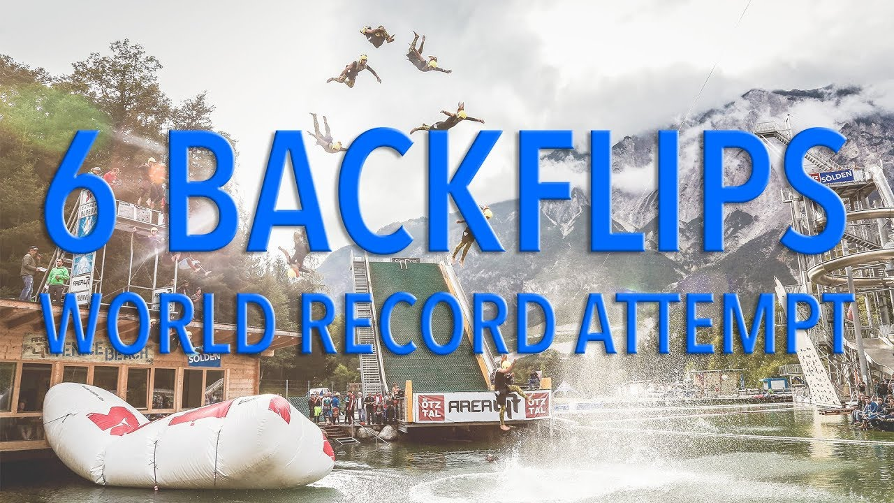 Blobbing Extreme 2016 Edit - World Record Attempt (6 flips)