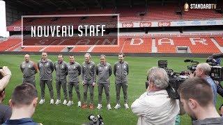 Le nouveau staff du Standard de Liège