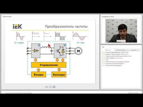 Основы управления частотно регулируемым электроприводом