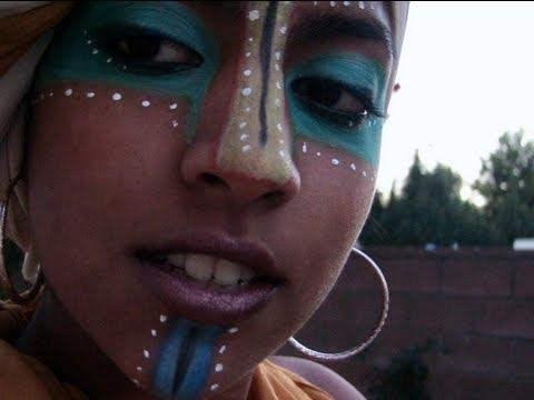African Tribal Makeup Tutorial!