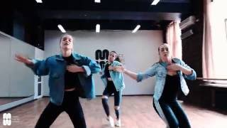 �������� ���� Vybz Kartel - Blackbarry - Danehall routine by Attitude Gyals - Alina Saveleva, Alena Elina ������
