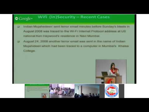 Security Issues in Wireless Communication by Ms. Divya Bansal on 19th September 2013