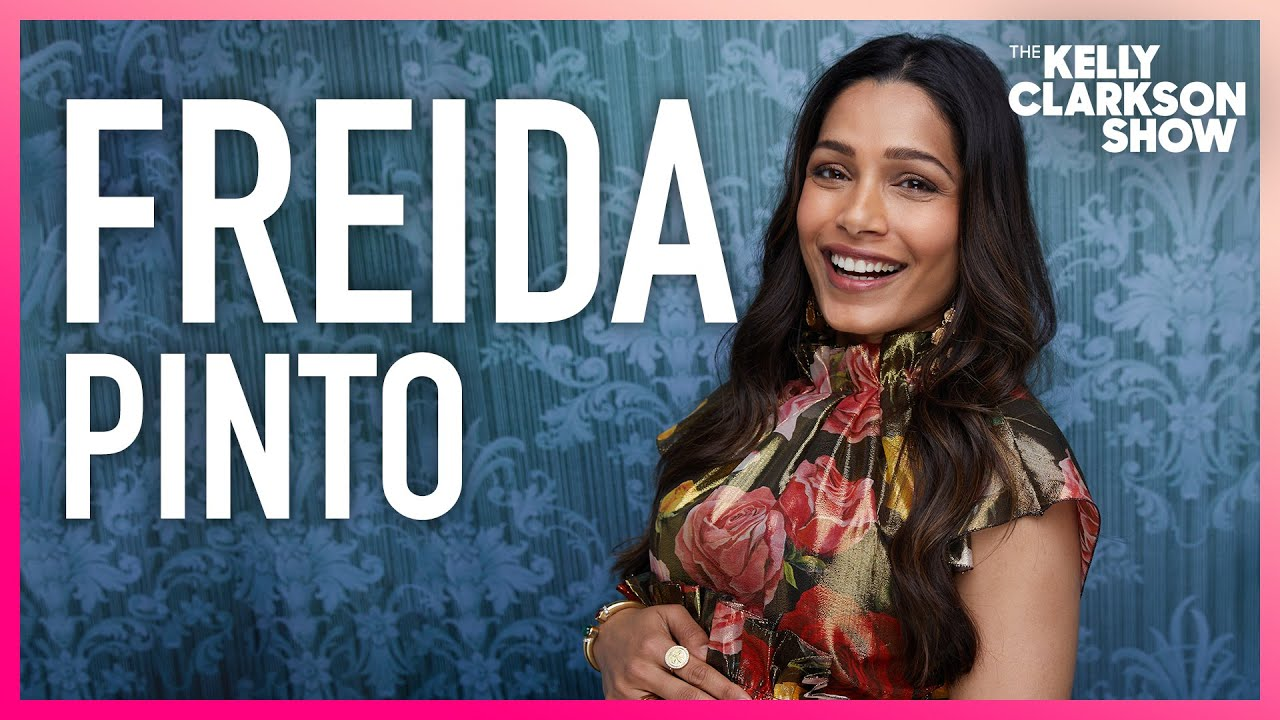 Download Freida Pinto Had To Wear A Corset While Pregnant