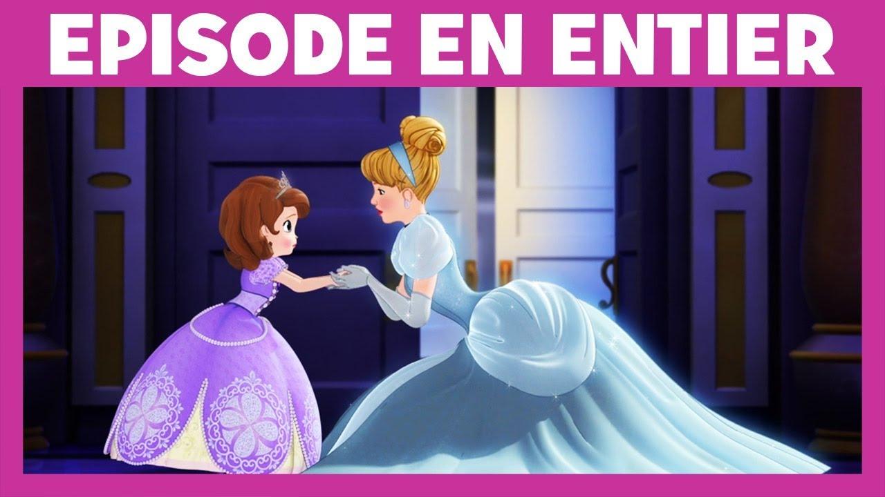 Princesse Sofia Moment Magique Cendrillon Aide Les Soeurs A Bien