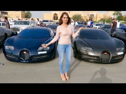 Rich Kids of the Middle East - The Most Expensive Car Event