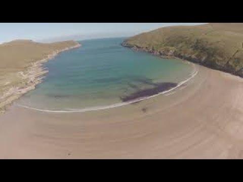 Portacloy beach in County Mayo, Ireland
