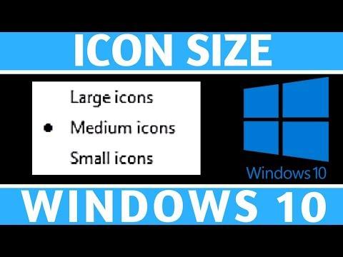 how-to-change-icon-size---windows-10-tutorial