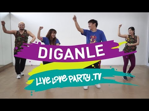 Diganle | Live Love Party | Zumba | Dance Fitness