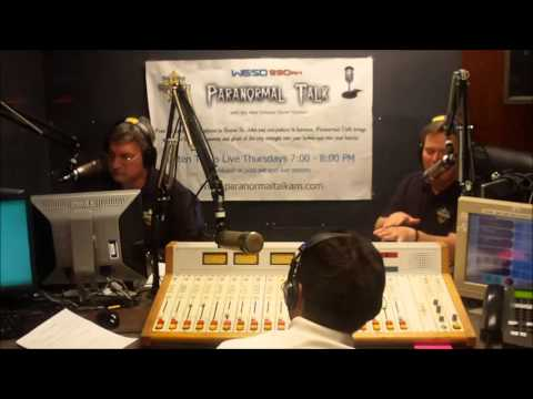 Paranormal Talk Radio Show - Cold Harbor & The Steamboat Natchez