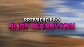 : Adobe Premiere Pro CC kayarak bir Geçiş Oluşturma
