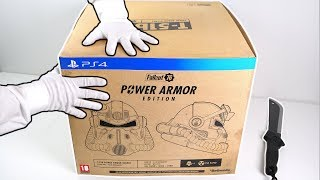 """Fallout 76 """"Power Armor Edition"""" Unboxing (PS4 Collector"""