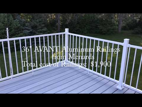 Installing Avant Aluminum Stair Railings and Posts