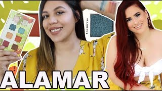 Alamar Cosmetics Palette Review + Swatches | Girl Boss of the Week