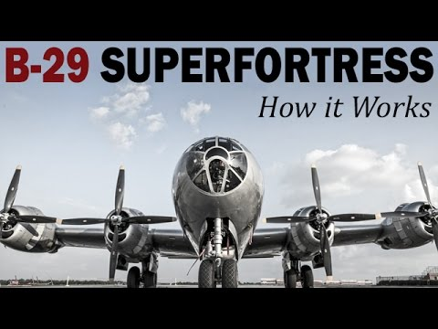 How it Works: The B-29 Superfortress | USAAF Training Film | 1944