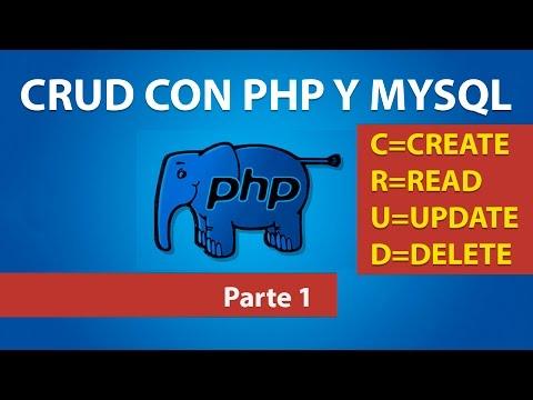 CRUD con PHP y MYSQL - Parte 1