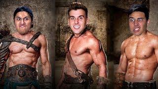 We Turned Into Gladiators!
