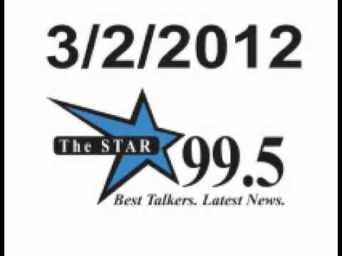 3/2:  Star Radio Ed and Jake followed by Thomas Hayes Morrison