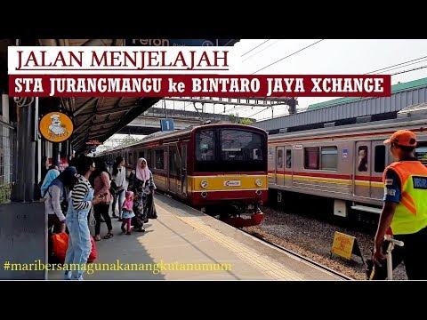 Walking Around ~ Stasiun KRL Jurangmangu To Bintaro Jaya Xchange ~ Tangerang Selatan