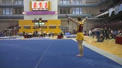 Luke Aldrich Floor Minnesota Men's Gymnastics 01-27-2018