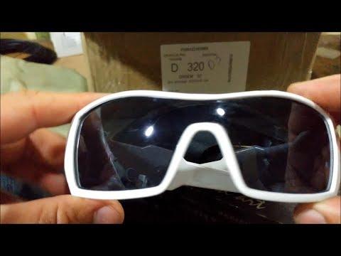 UNBOXING Óculos Oakley Oil Rig Branco Raro (Não é Original Ok)