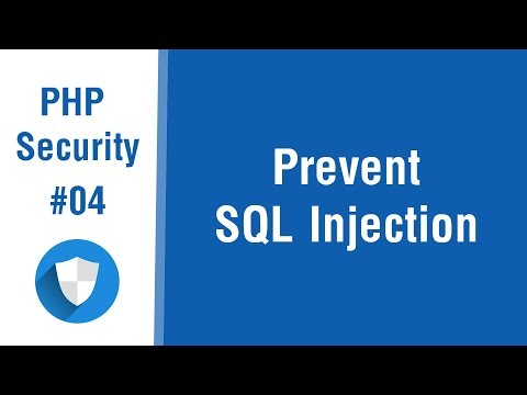 PHP Security Tips In Arabic #04 - Prevent SQL Injection