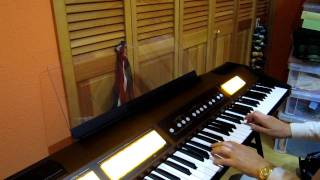 I bought an new classic organ, Roland C-200. I first played this mu...
