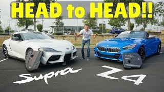 2020 Toyota Supra vs 2020 BMW Z4 M40i: Everyone Said They Are The Same!!