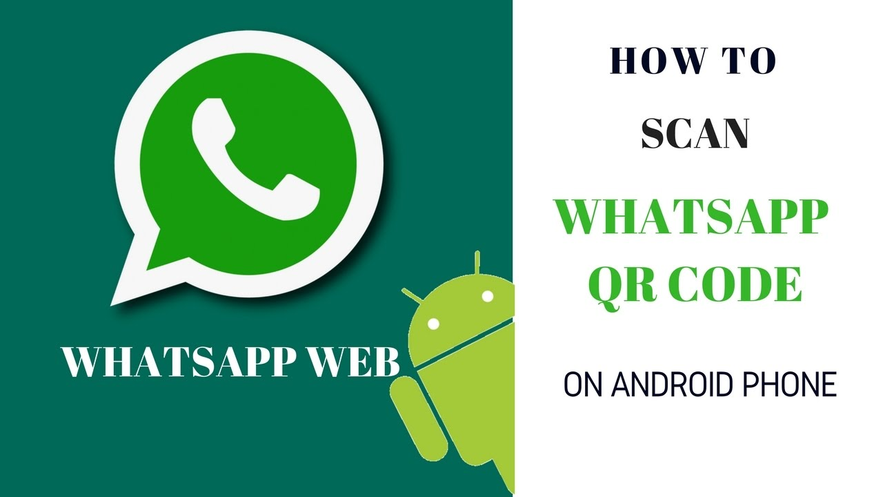How to Scan Whatsapp QR Code in Android Phone | Whatsapp Web QR Code
